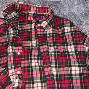 PRL Red Plaid checks Flannel size XXL Performance